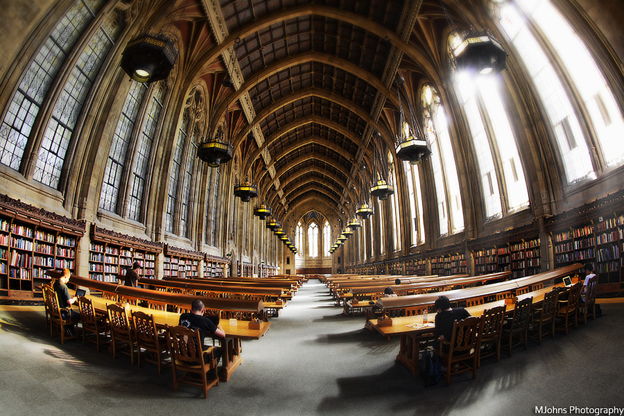 Photograph Suzzallo Library at UW by Johns Tsai on 500px