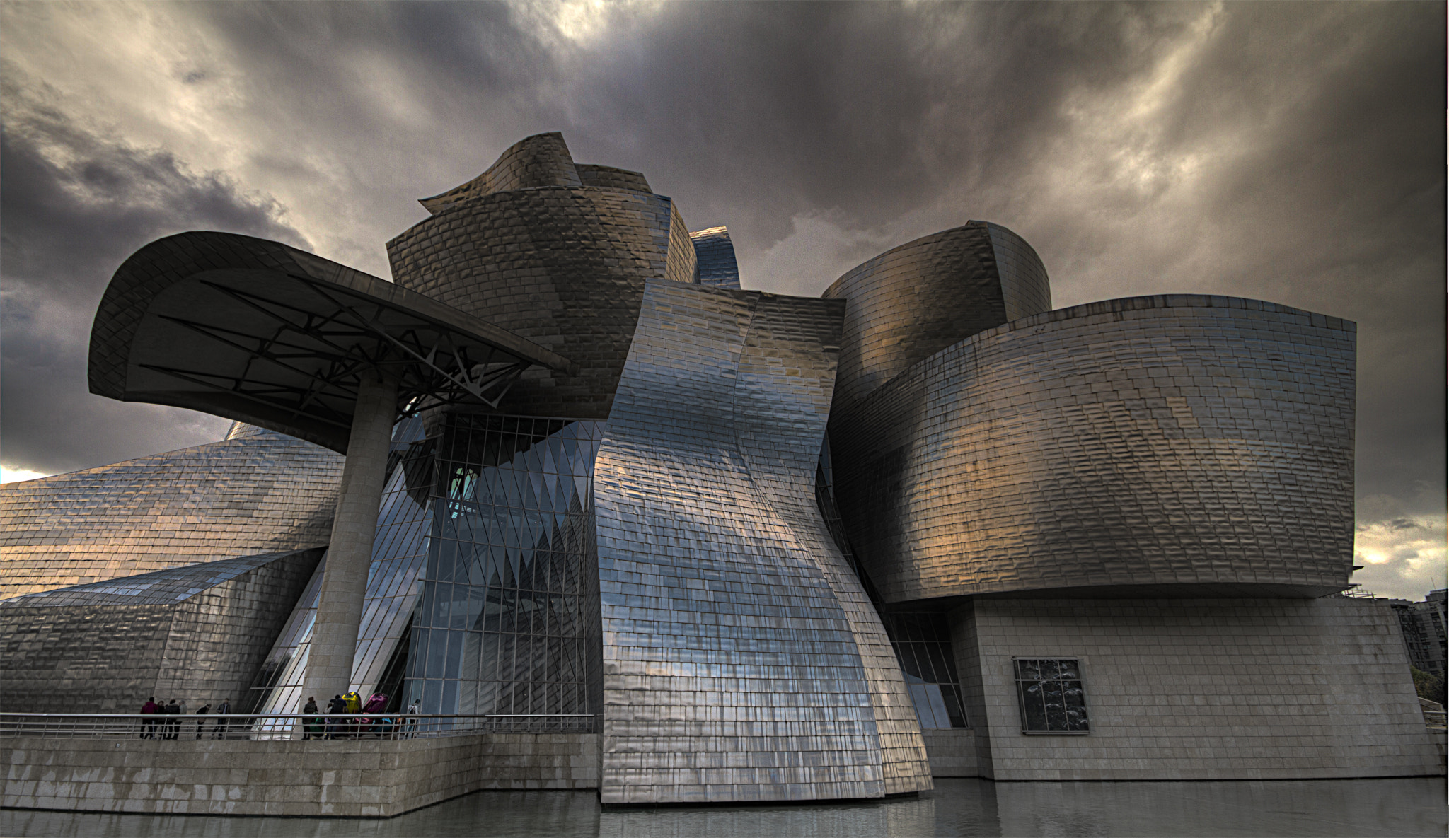 Photograph Gugenheim museum, Bilbao, Spain by Sylvain Millier on 500px
