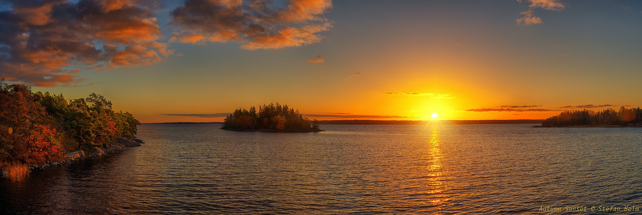 Photograph  Autumn Sunset 2 by Stefan Holm on 500px