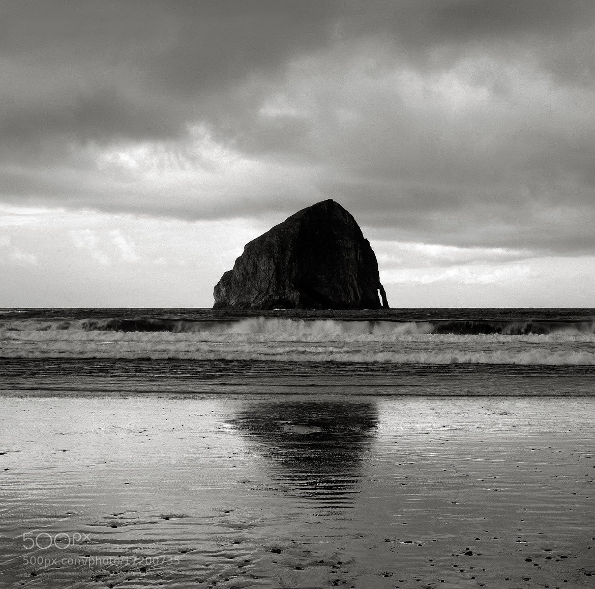 Photograph Early Morning, Haystack Rock, Oregon by Austin Granger on 500px