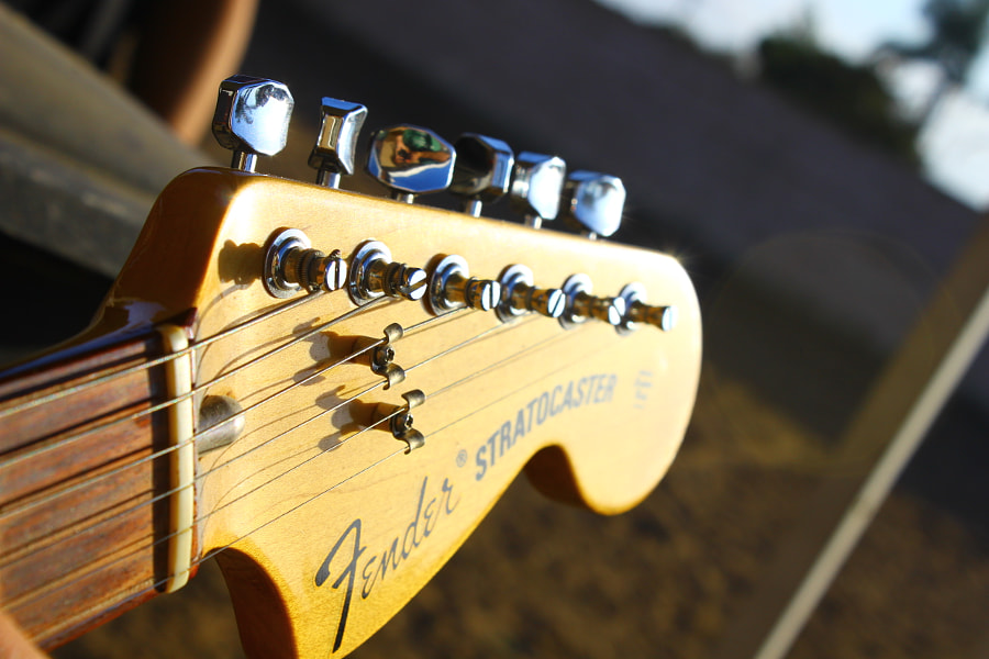 Fender Guitar by Joseph Kozachenko on 500px.com