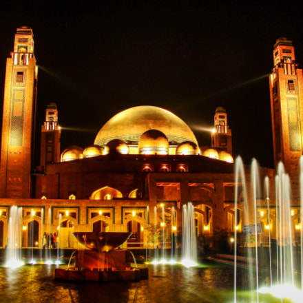 Bahria Grand Mosque, Lahore, Sony DSC-H20