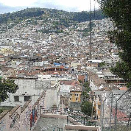Quito..old downtown, Samsung Galaxy Ace Duos