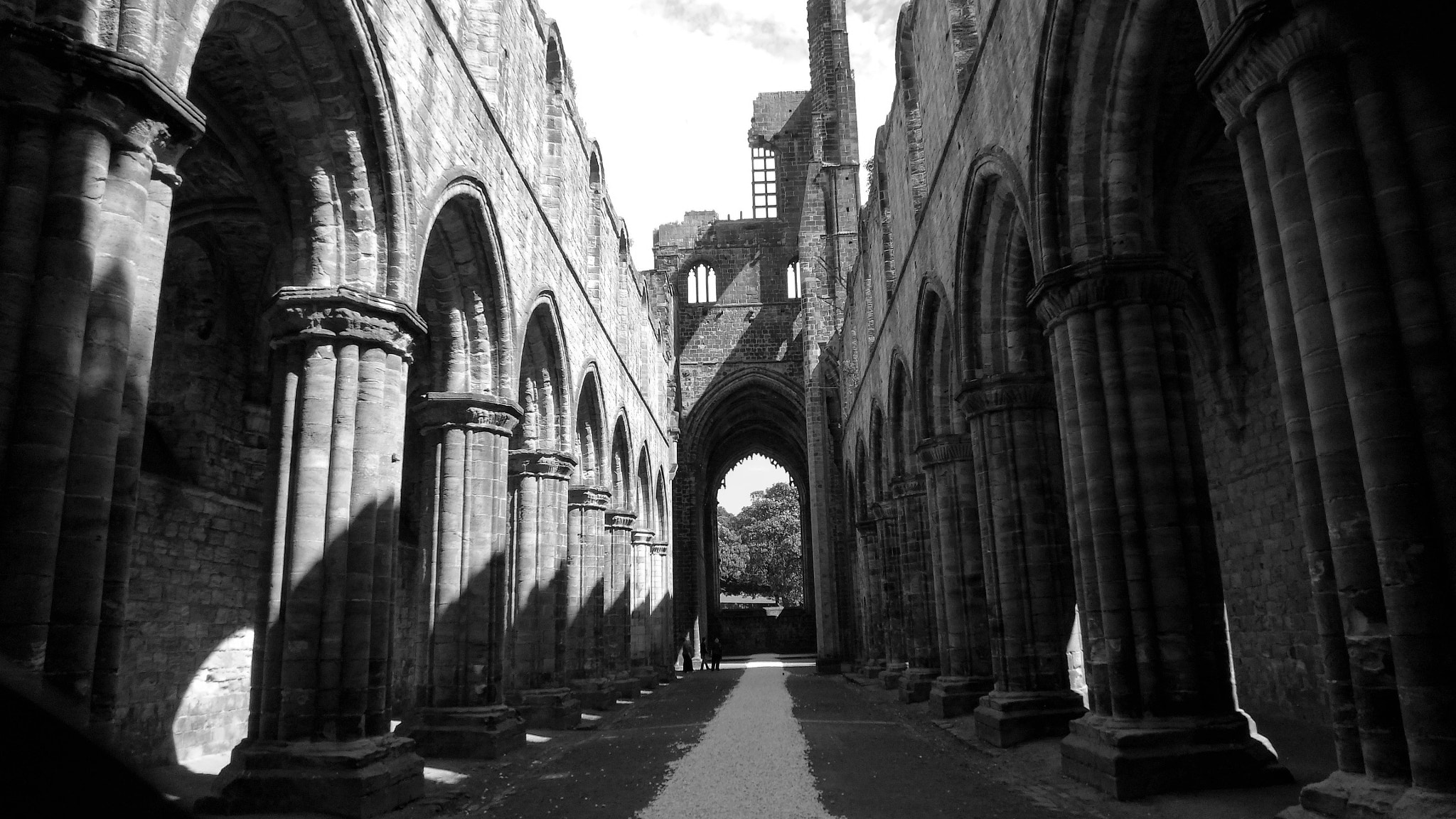 Photograph Kirkstall Abbey in Leeds by David Devonport on 500px