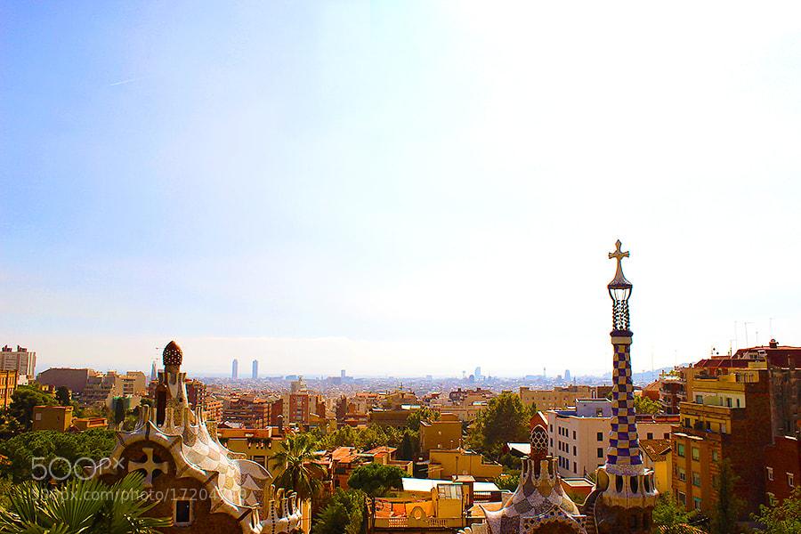 Photograph Barcelona View Parc Güell by Stephanie W. on 500px