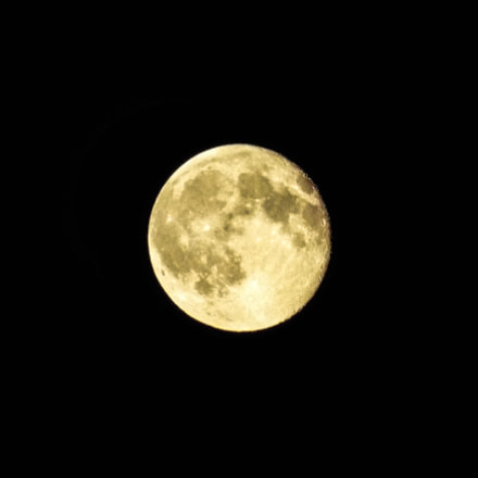 Full moon, Fujifilm FinePix S8300