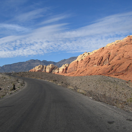 Red Rock Canyon, Canon POWERSHOT S70