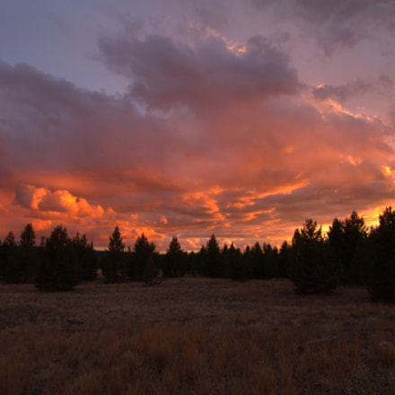 Big Sky Sunset, Canon EOS REBEL T3, Sigma 10-20mm f/3.5 EX DC HSM