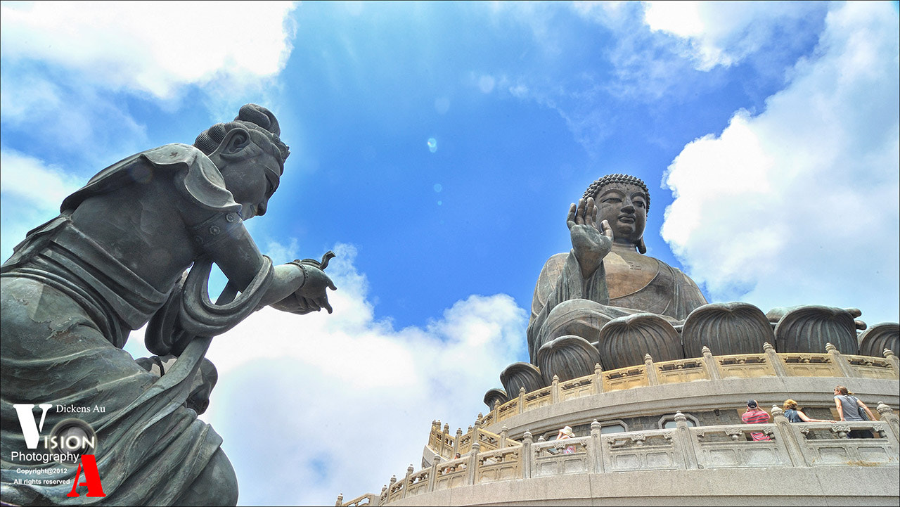 Photograph HongKong Giant Buddha 大嶼山大佛  by Dickens Au on 500px