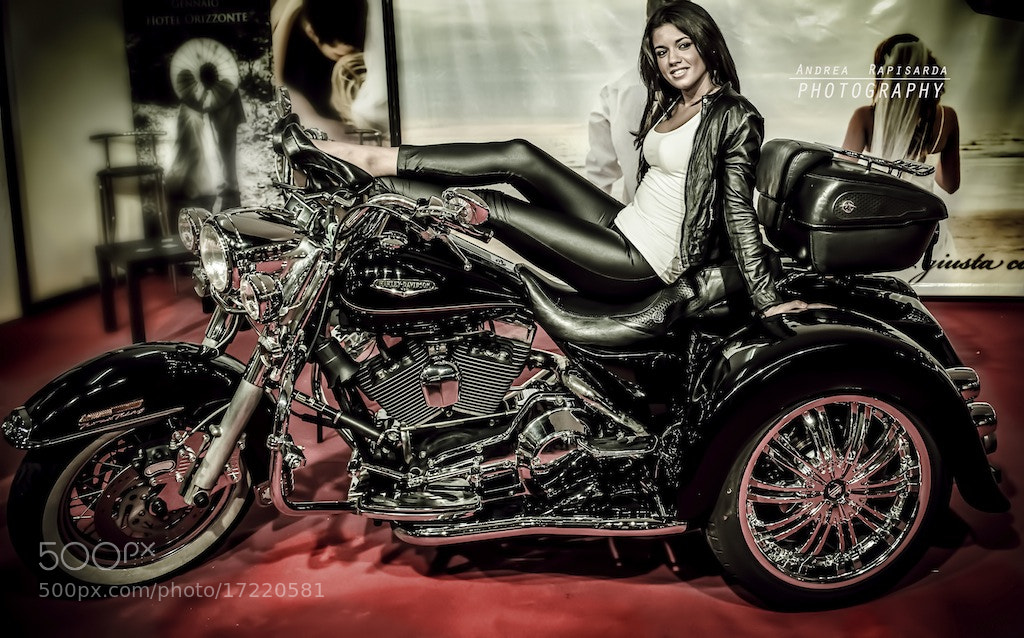 Photograph On the bike by Andrea Rapisarda on 500px
