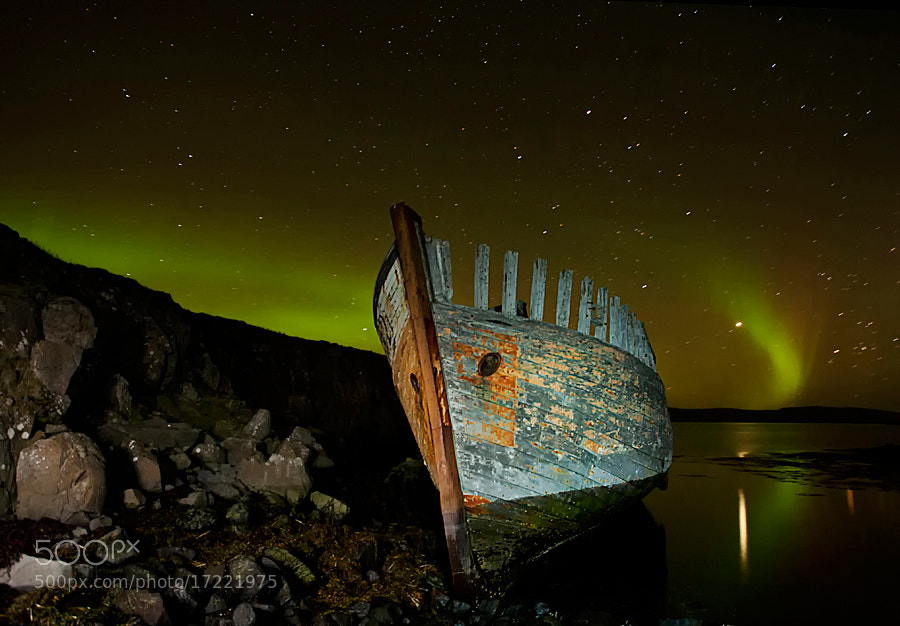 Photograph Surrounded by Aurora by Þorsteinn H Ingibergsson on 500px