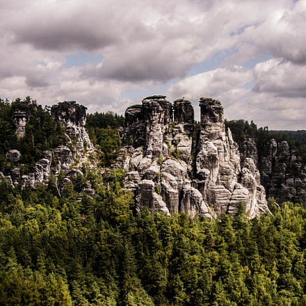 Bastei, Saxon Switzerland National, Panasonic DMC-FZ2