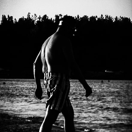 the swimmer, Nikon COOLPIX S6700