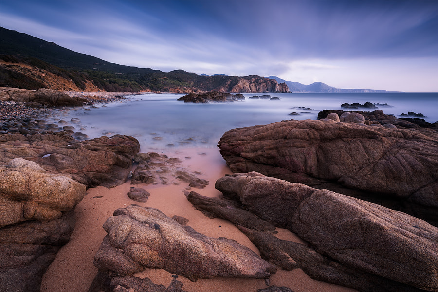 Blue Hour in Sardinia