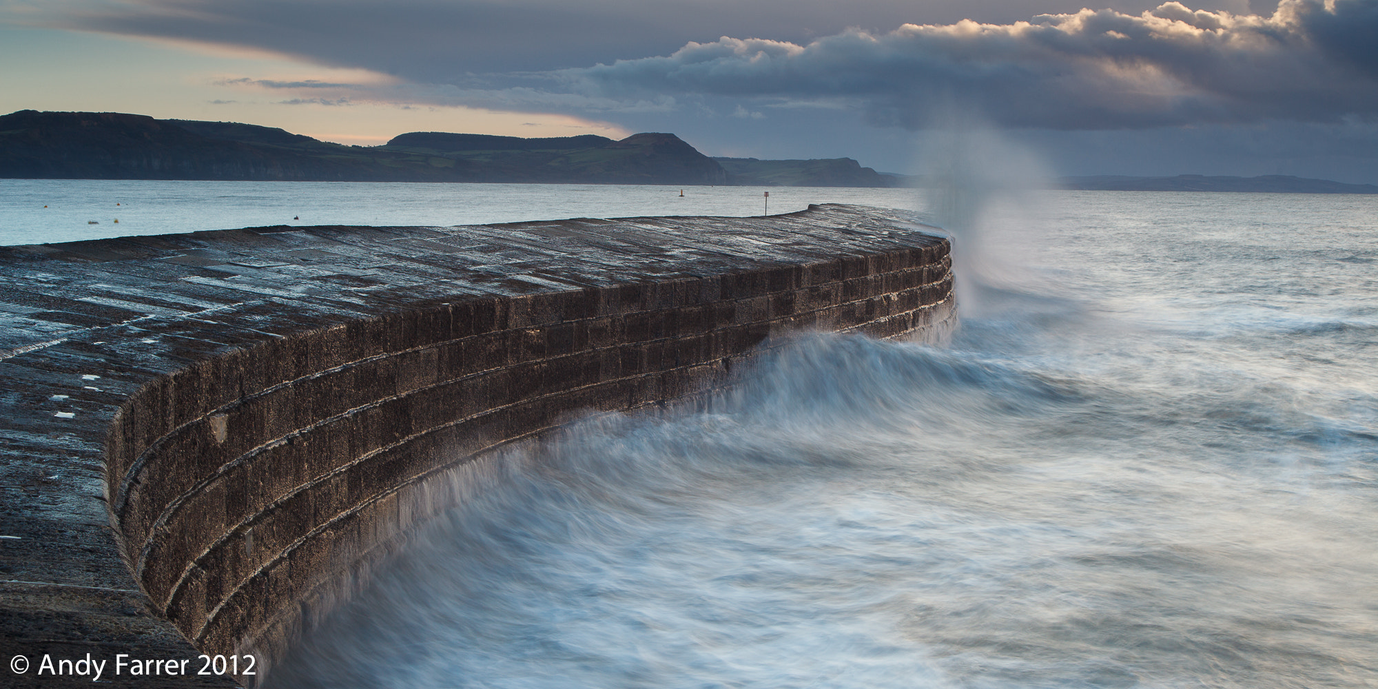 Photograph The Cobb at Lyme by Andy Farrer on 500px