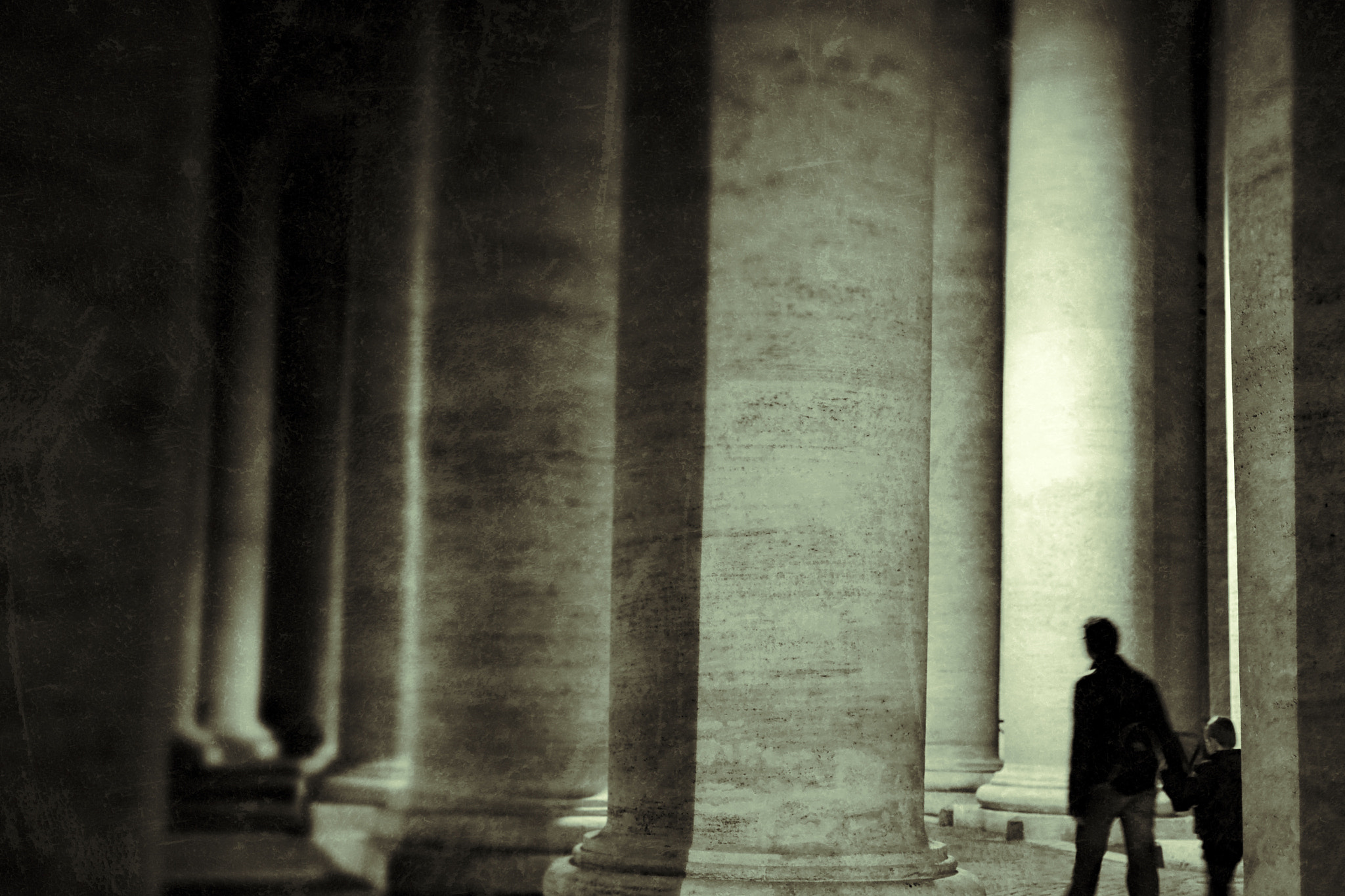 Photograph Walk the future through the past by Ettore  Mongelli on 500px