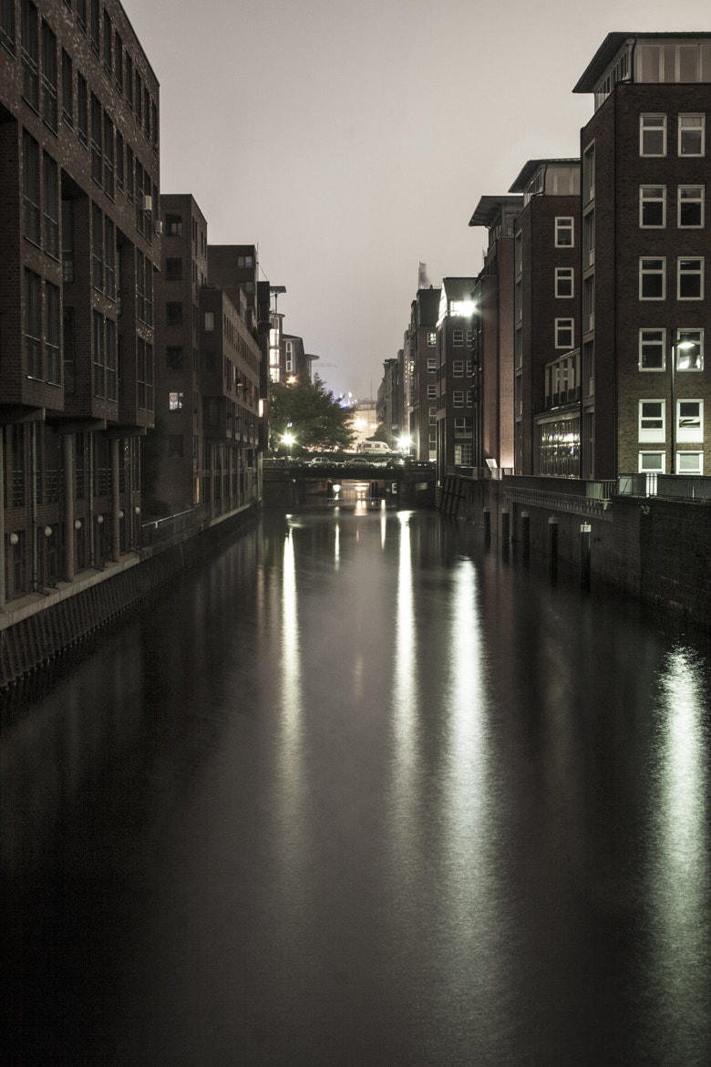 Photograph Hamburg by night by Benjamin Linden on 500px