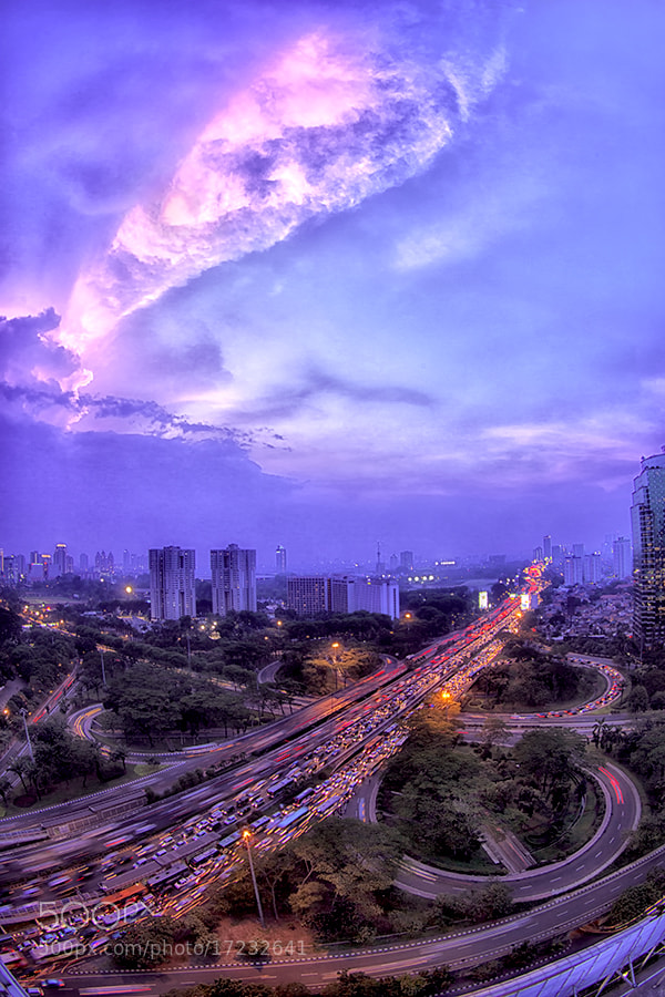Photograph Sunset @ Semanggi by Sanya Ad on 500px