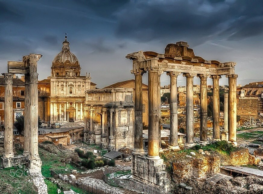 Photograph Fori Imperiali by Leo Mosca on 500px