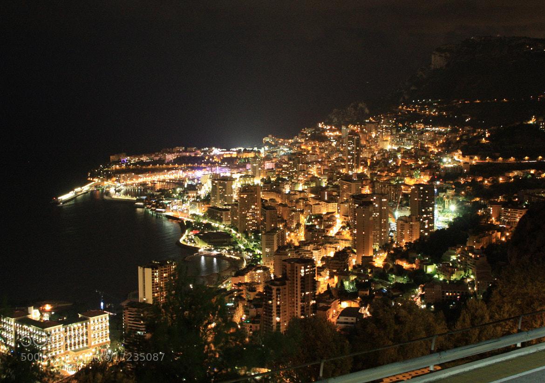 Photograph Monaco night by Wolfgang Windegger on 500px