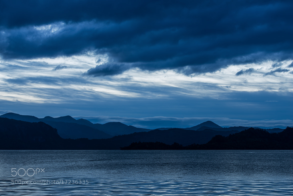 Photograph Painting With Blue by Agustin Rafael Reyes on 500px