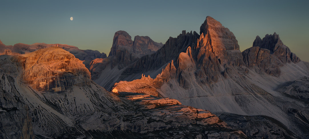 Photograph Dolomites - Very Last Light by Kilian Schönberger on 500px