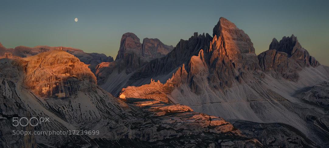 Photograph Dolomites - Very Last Light by Kilian Schönberger on 500px