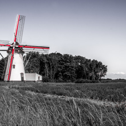 Windmill - Typical for Netherlands