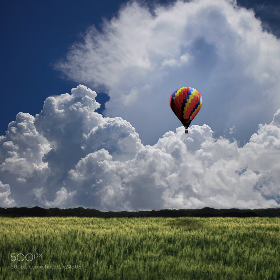 Photograph Would You Like To Ride In My Beautiful Balloon by Carlos Gotay on 500px