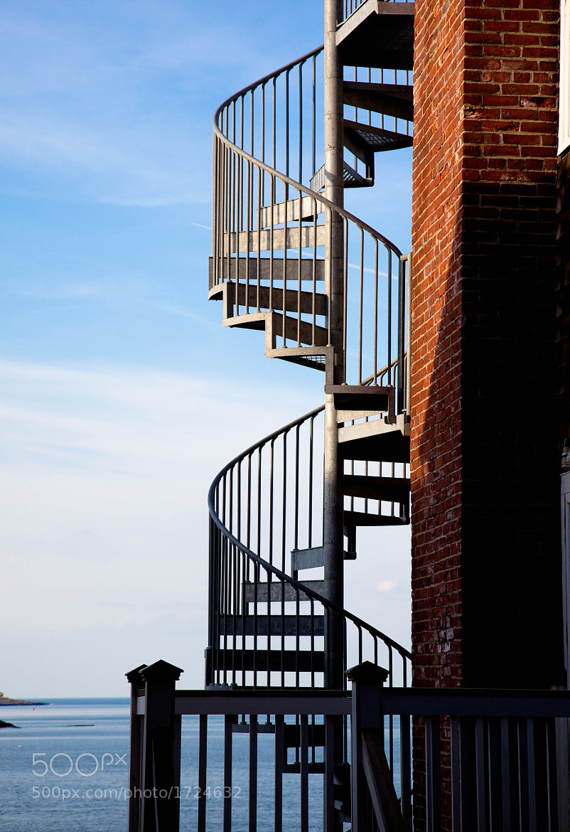 Photograph Stairs, Rockport, Massachusetts. by Stanton Champion on 500px
