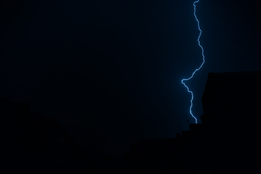 Brierfield Lightning Hit by Lucas P Puch on 500px.com