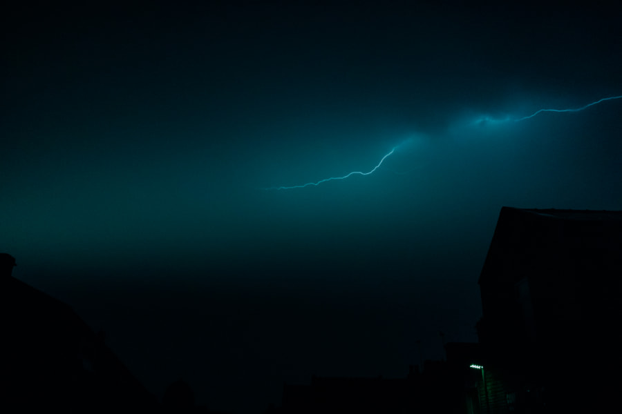 Brierfield Lightning On Cloudy Sky by Lucas P Puch on 500px.com