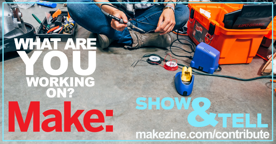 Make: Show & Tell Ad