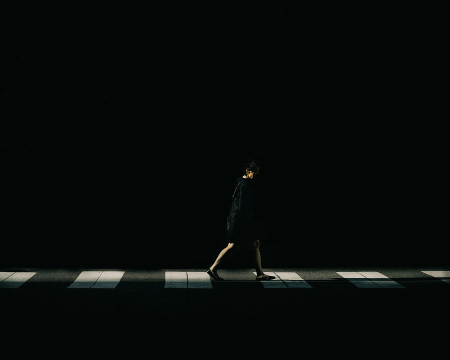 Deep shadow crosswalk. by Blake Pleasant on 500px.com