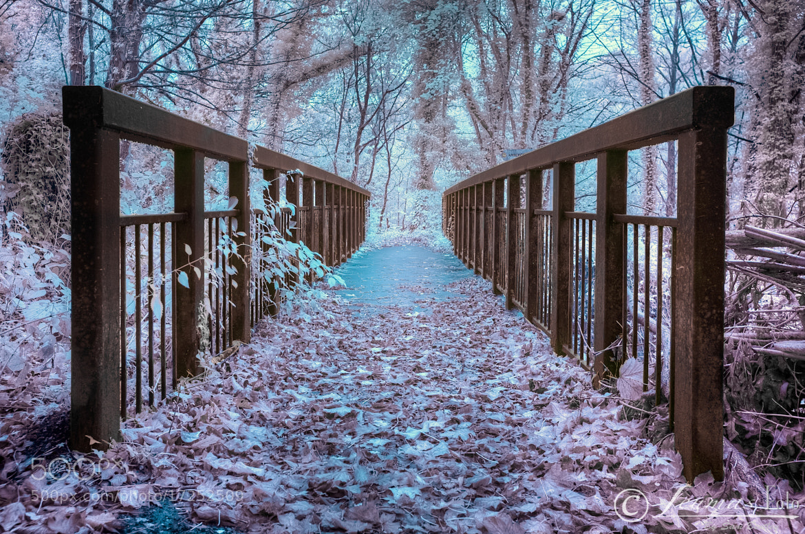 Photograph Derwent Bridge in Infrared by Sam Bentley on 500px