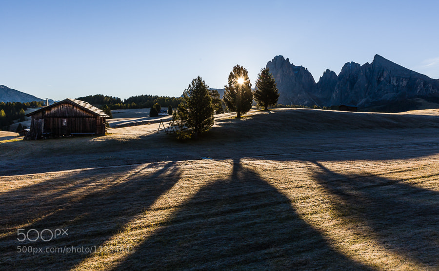 """<a href=""""http://www.hanskrusephotography.com/Workshops/Dolomites-October-7-11-2013/24503434_Pqw9qb#!i=2190256419&k=h6XVP6H&lb=1&s=A"""">See a larger version here</a>  This photo was taken during a photo workshop that I led in the Dolomites October 2012."""