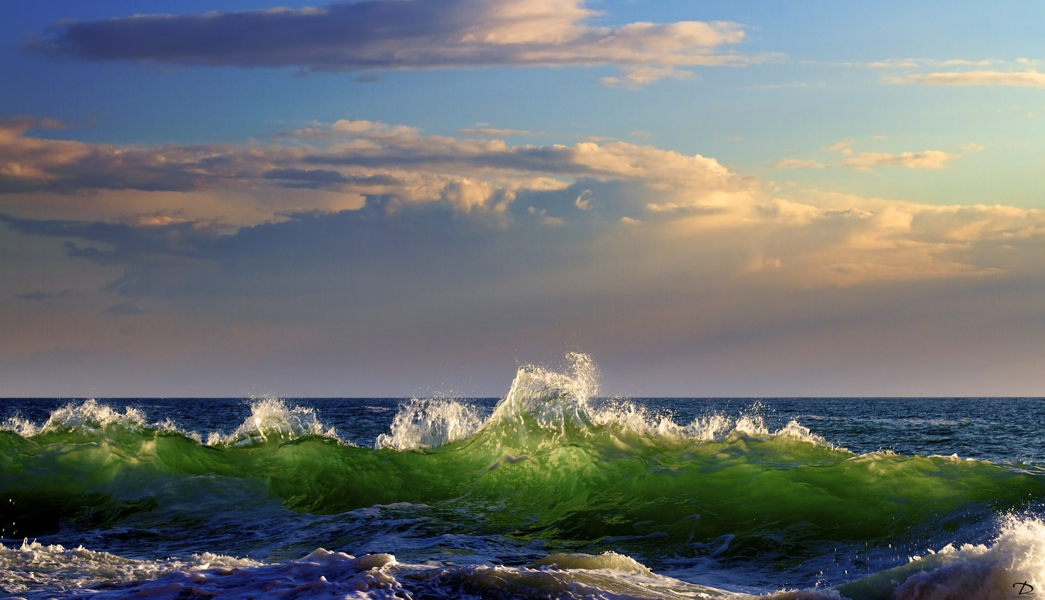 Photograph La vague verte by Denis Drouault on 500px