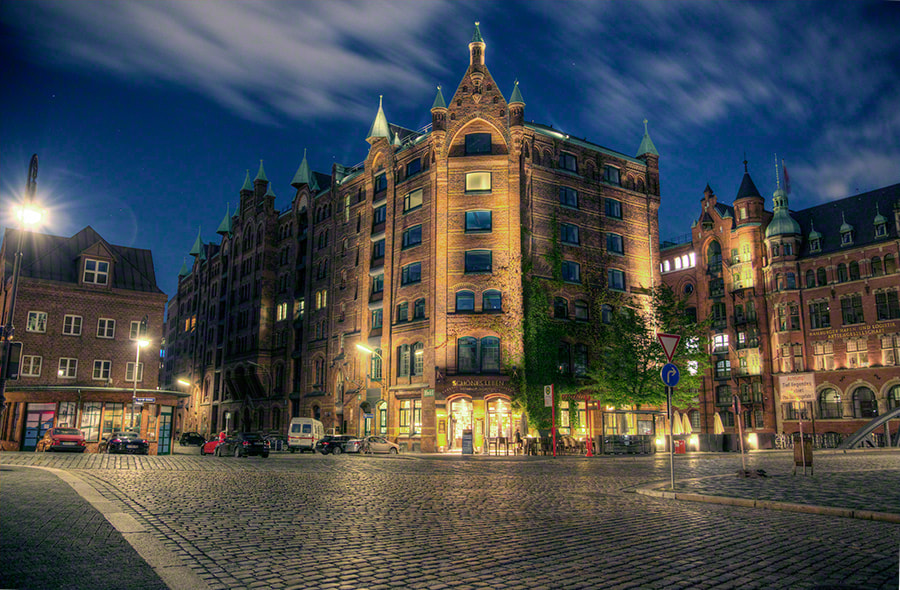 Photograph Hamburg warehouse district by Guido Beutler on 500px