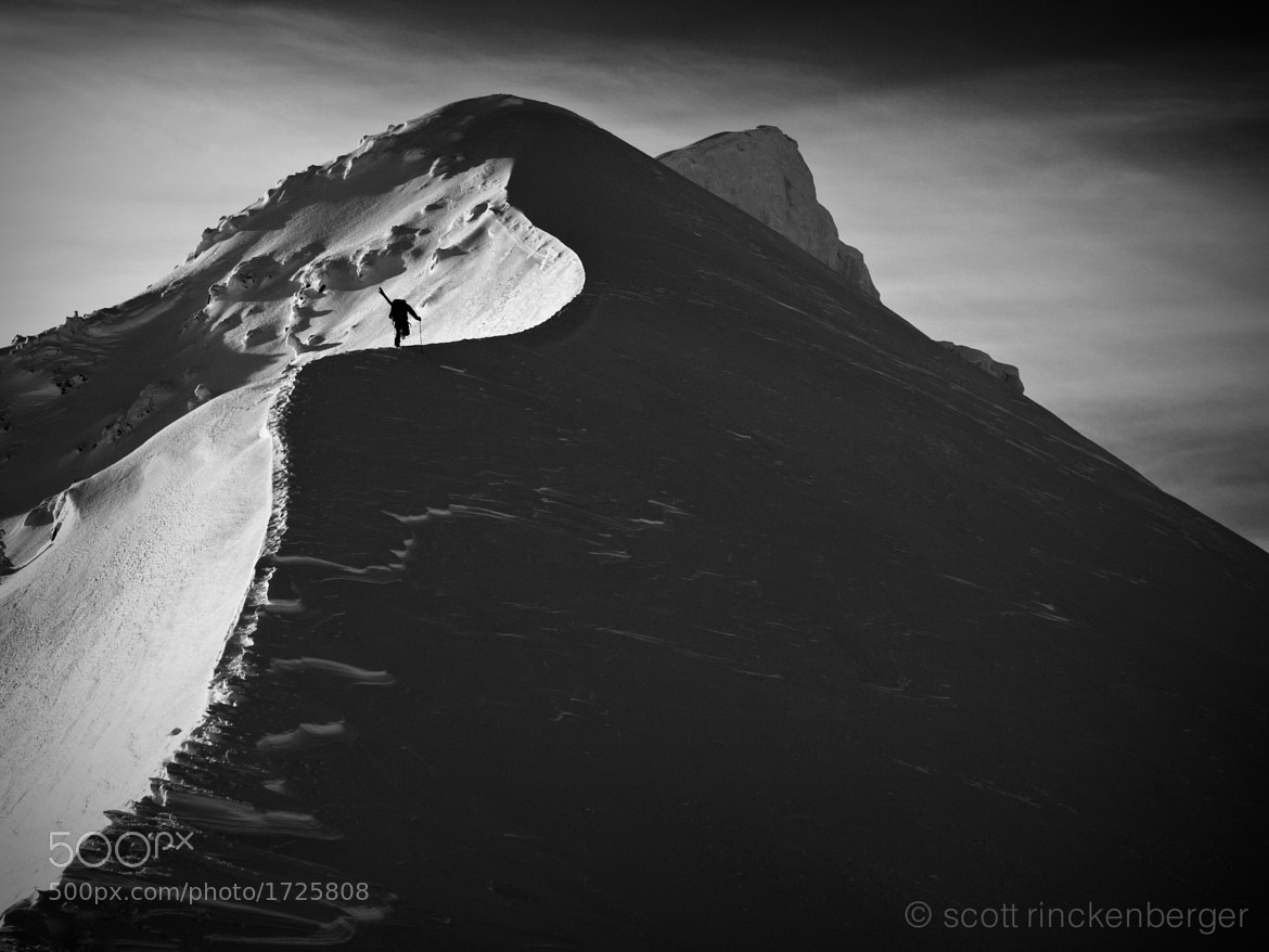 Photograph Climbing the shadow line by Scott  Rinckenberger on 500px