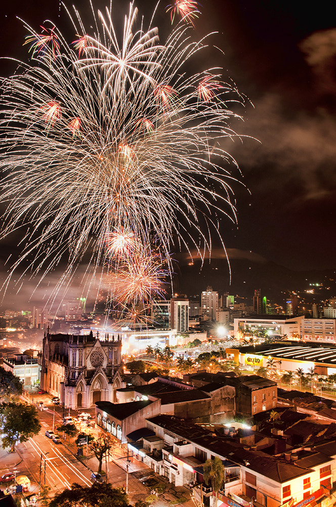 Photograph Fireworks by Pablo Buitrago on 500px