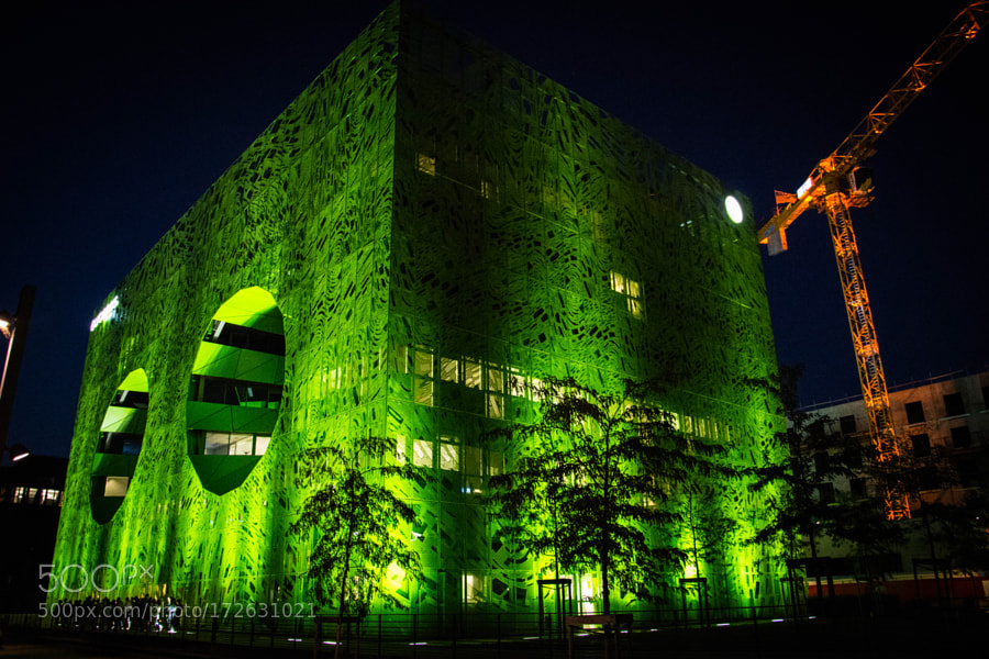Euronews's Green Cube, another cube !