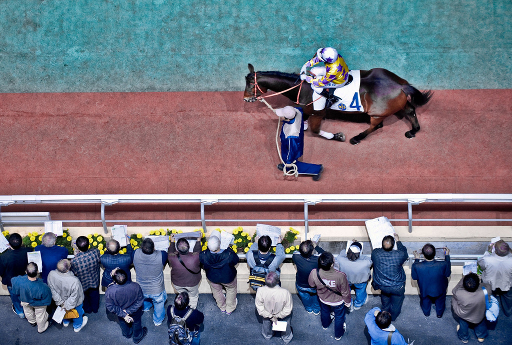 Photograph Happy Valley Racetrack From Above by Sam Gellman on 500px