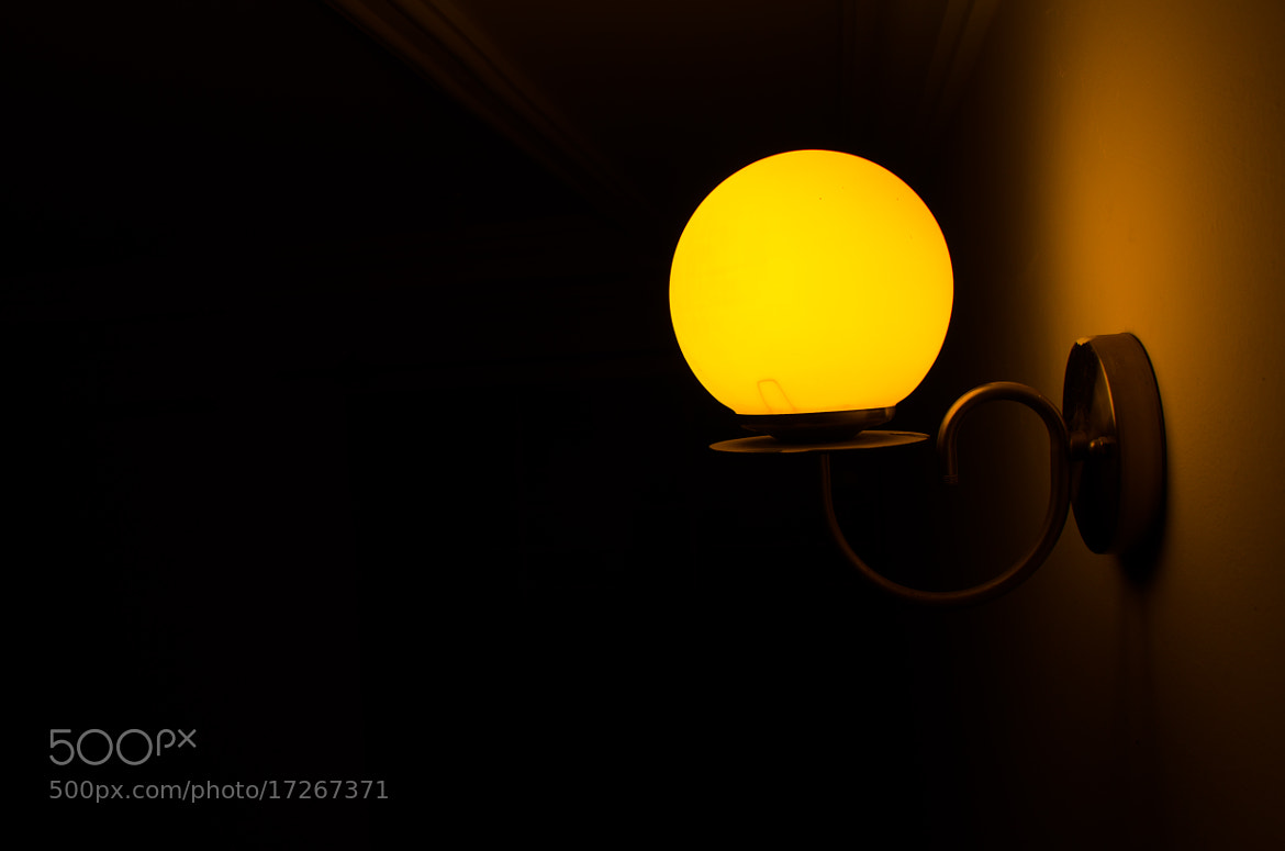 Photograph Yello Light Glob by ShutterAge  on 500px