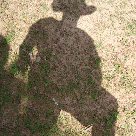 indiana jones shadow, Panasonic DMC-FX3