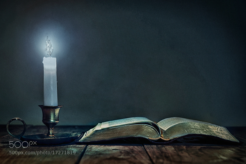 Photograph water candle by Alexander Heinrichs on 500px