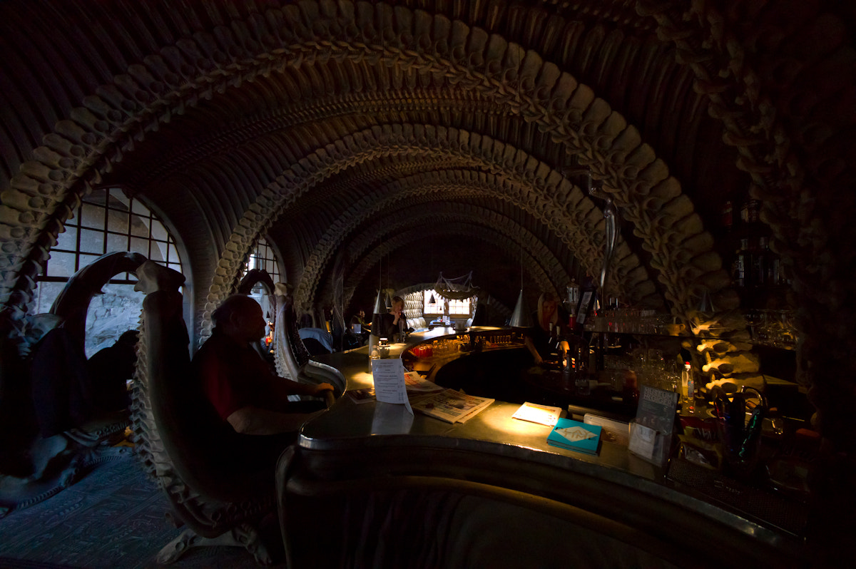 Photograph Giger's bar by Sven Doublet on 500px