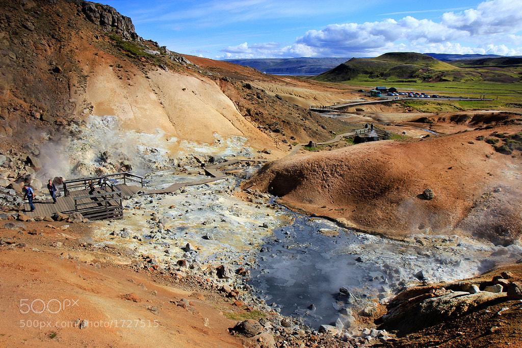 Photograph Seltún Iceland by Anna Guðmundsdóttir on 500px