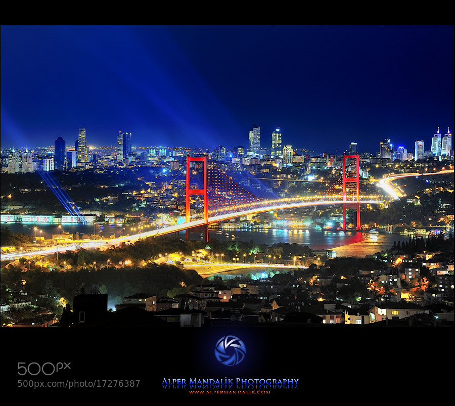 Photograph Istanblue by Alper Mandalik on 500px