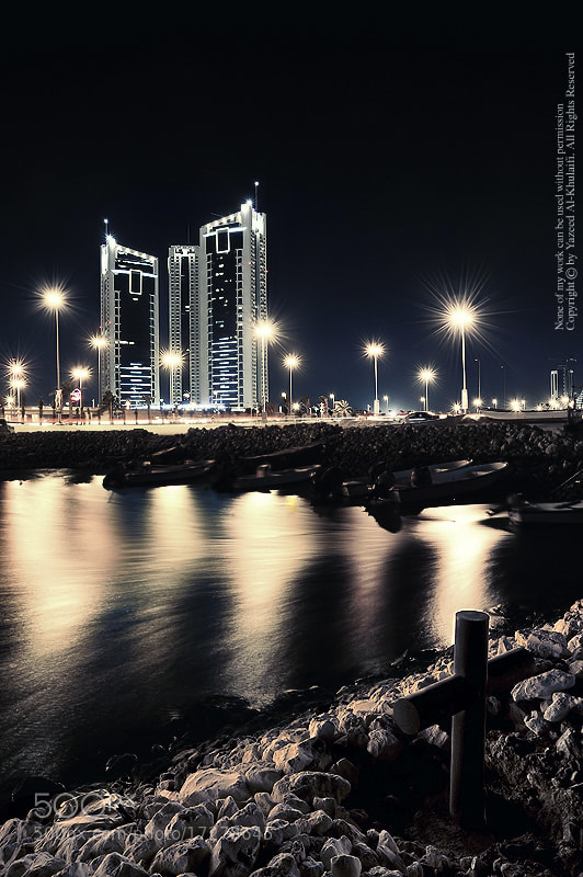 Photograph Sea + City _  Bahrain by Yazeed AlKhulaifi on 500px