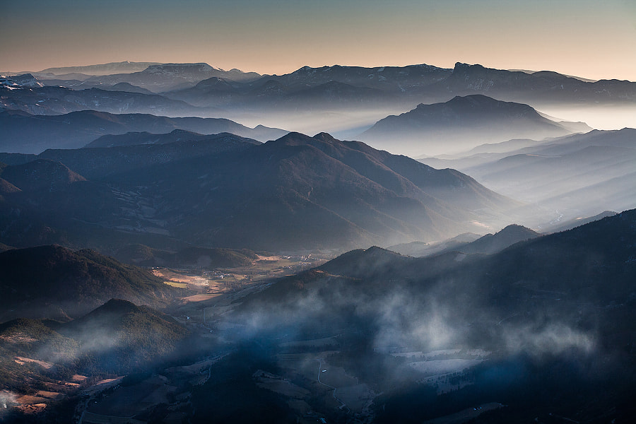 Valleys by Vincent Favre on 500px.com